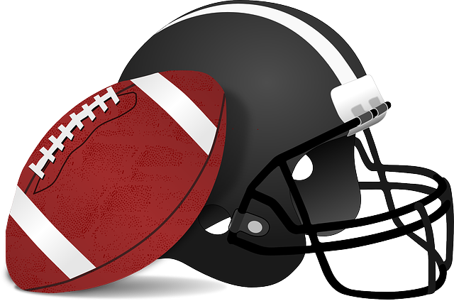 football und helm clipart
